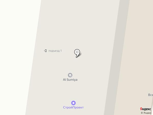 Все грани на карте Альметьевска