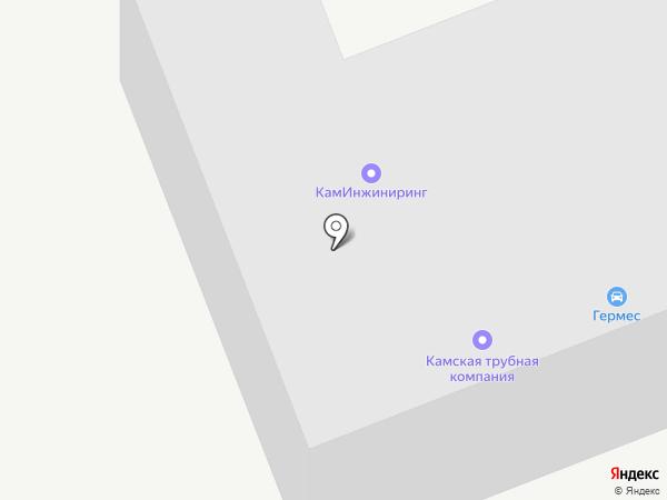 КамИнжиниринг на карте Набережных Челнов