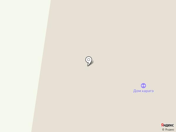 Дом Каратэ на карте Альметьевска