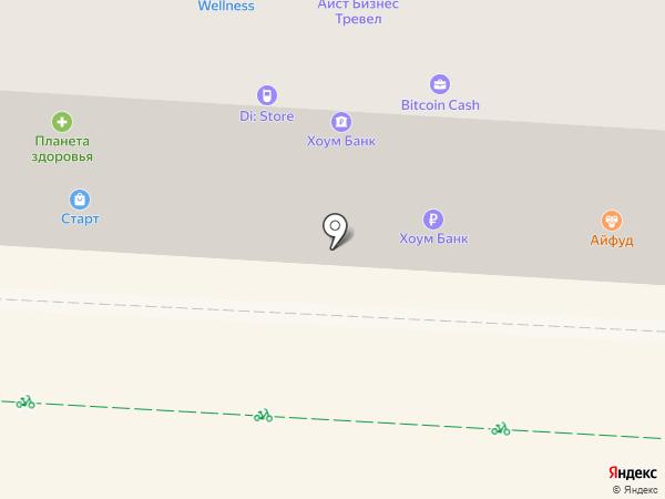 Конкор-Оптика на карте Альметьевска