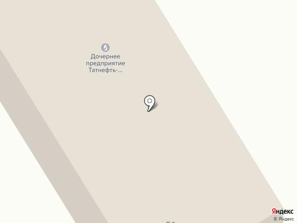 Татбурнефть на карте Альметьевска
