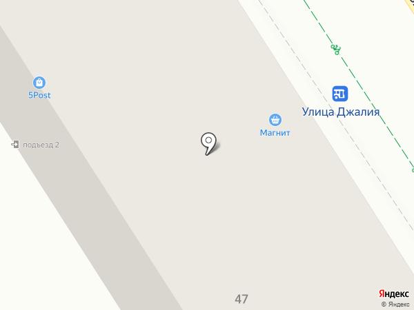 Ясмина на карте Альметьевска