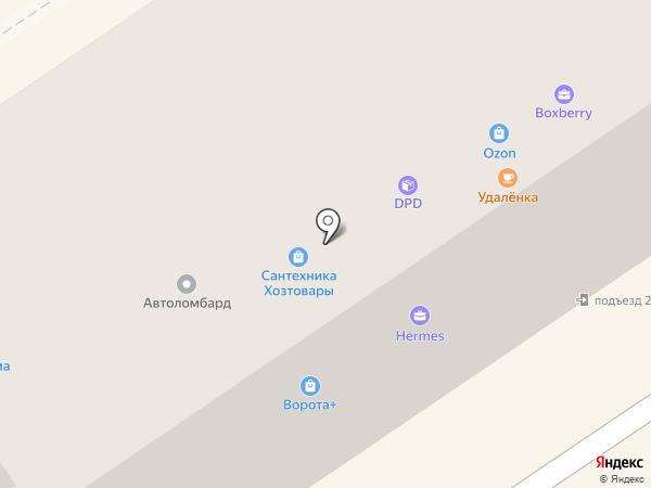 Адвокатский центр №1 на карте Альметьевска
