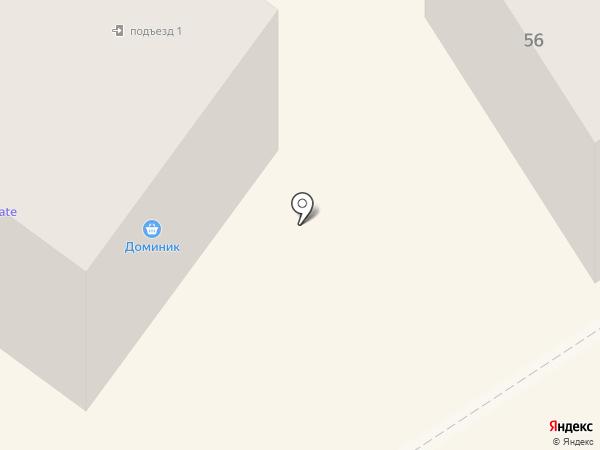 Доминик на карте Альметьевска