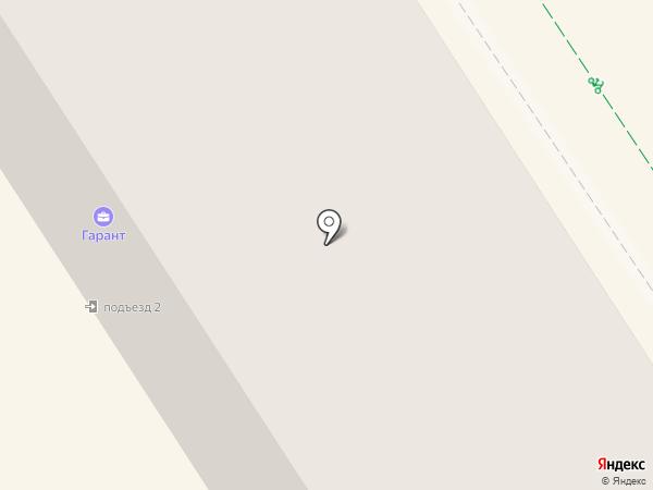 Гарант на карте Альметьевска