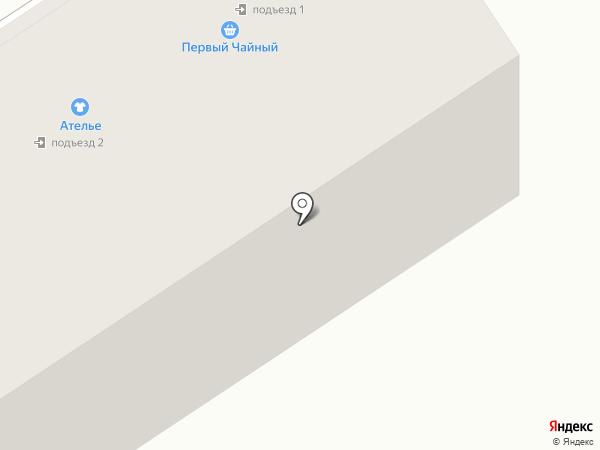 Данила-Мастер на карте Альметьевска