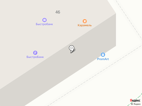 Терминал, АКБ Пробизнесбанк на карте Альметьевска