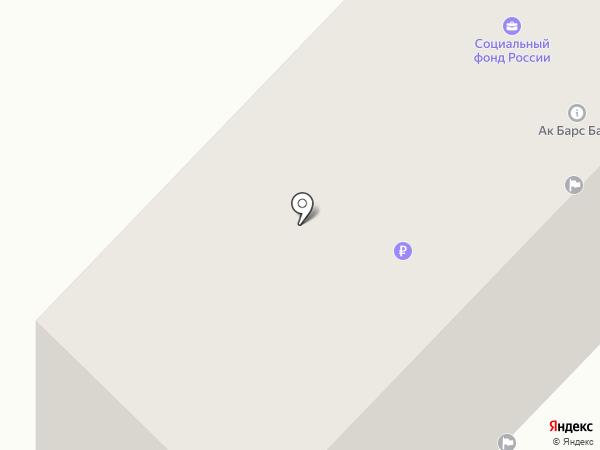 Сеть инфокиосков, АК Барс банк, ПАО на карте Набережных Челнов