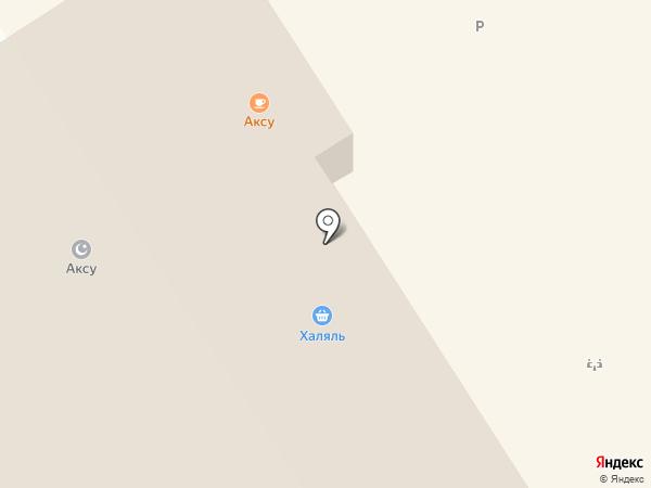 Халяль на карте Альметьевска