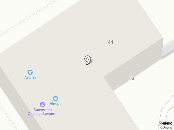 Принто на карте Альметьевска