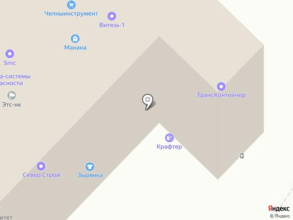 СПЕЦГНБСТРОЙ на карте Набережных Челнов
