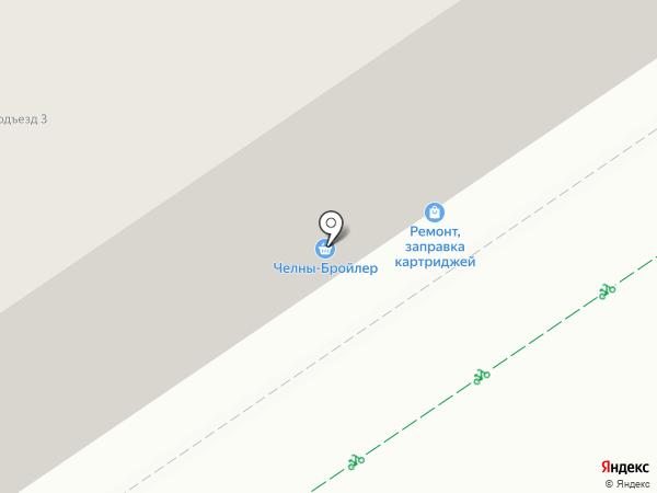 Челны-Бройлер на карте Альметьевска
