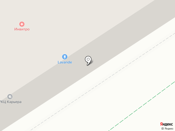 Лаванда на карте Альметьевска