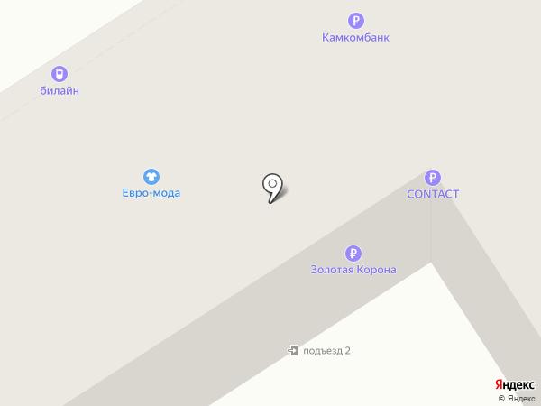 Банкомат, Камский коммерческий банк на карте Альметьевска
