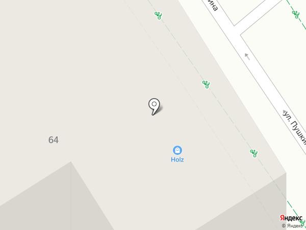 Шелковый путь на карте Альметьевска