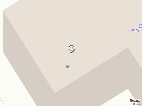 Виардо на карте Альметьевска