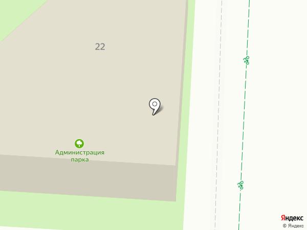 Городской парк им. 60-летия нефти Татарстана на карте Альметьевска