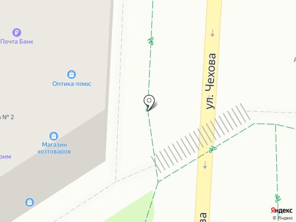 Библиотека №2 на карте Альметьевска