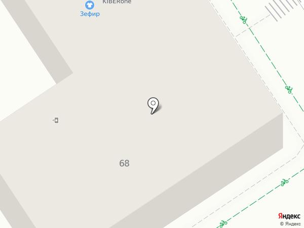 Зефир на карте Альметьевска