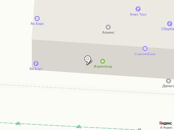 АК Барс банк, ПАО на карте Альметьевска