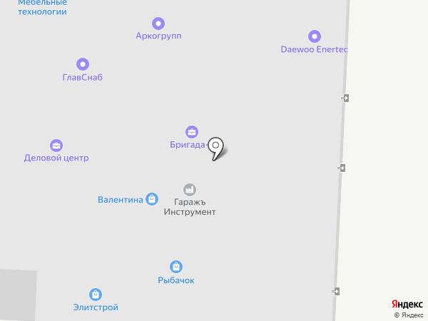 Автореклама на карте Альметьевска