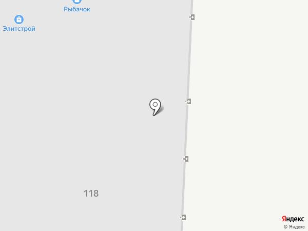 Рыбачок на карте Альметьевска