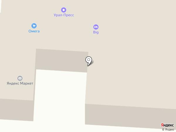 Лазерный Маг на карте Альметьевска