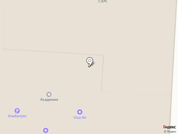 Маленький Гений на карте Альметьевска