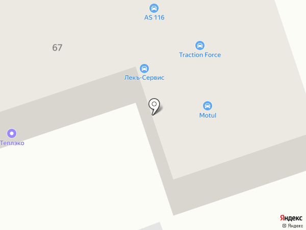 Железный феликс на карте Набережных Челнов