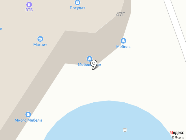 Уютэра на карте Набережных Челнов