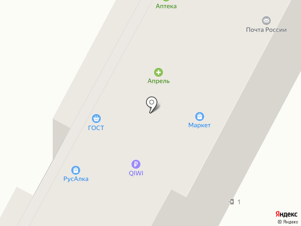 Мясная лавка на карте Набережных Челнов
