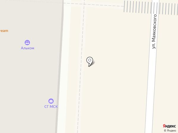 Донна лино на карте Альметьевска
