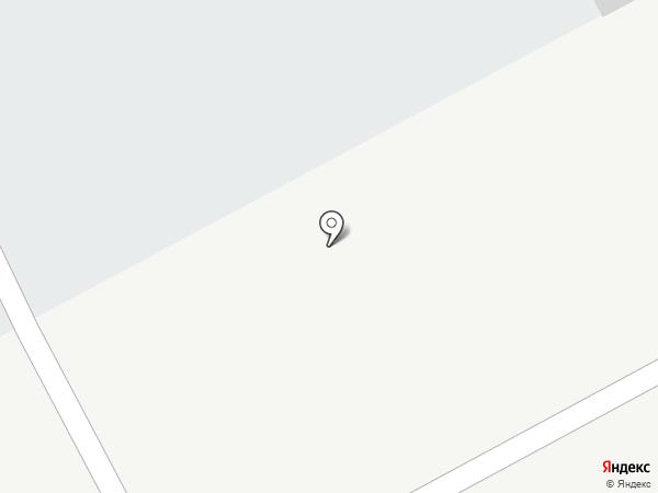 Грузовая автостоянка на карте Альметьевска