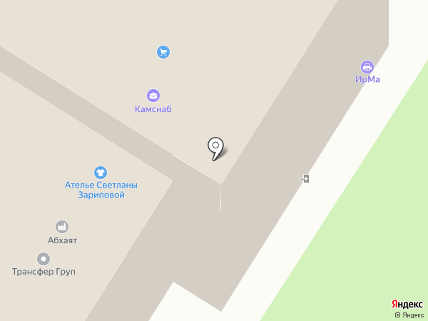 ИрМа на карте Набережных Челнов