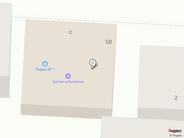 Жигули на карте Альметьевска