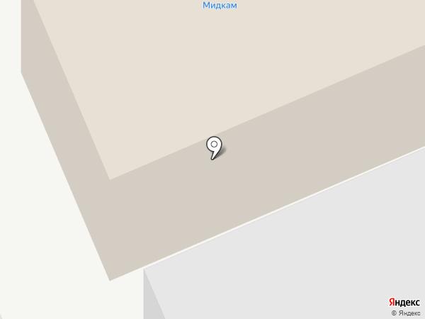 Мидкам на карте Набережных Челнов