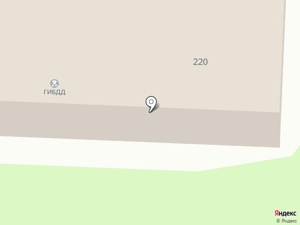 Отделение ГИБДД отдела МВД России по Альметьевскому району на карте Альметьевска