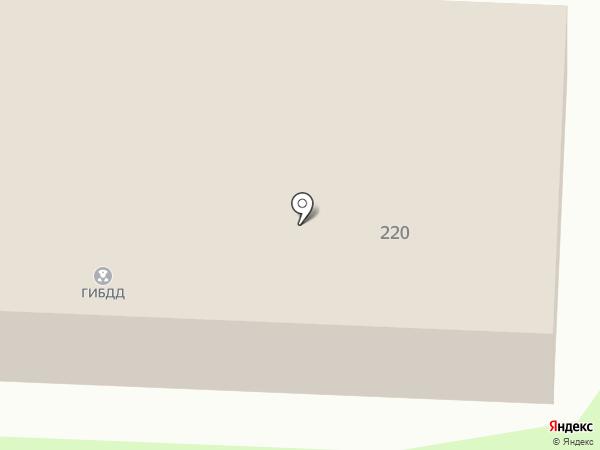 РЭО ГИБДД МВД России по Альметьевскому району на карте Альметьевска