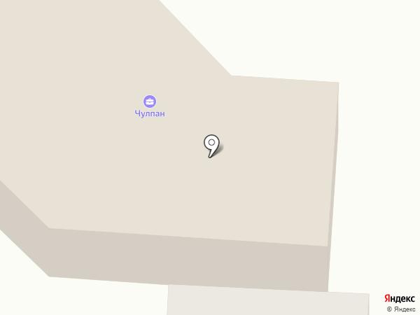 Чулпан, АО на карте Альметьевска