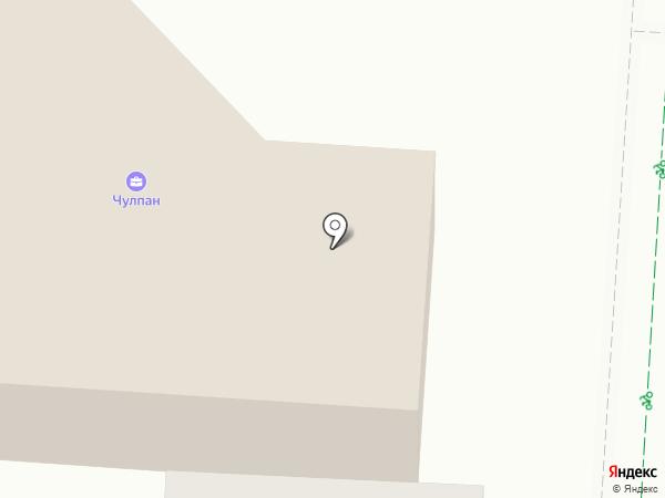 Чулпан на карте Альметьевска