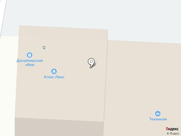 Атлас-люкс на карте Альметьевска