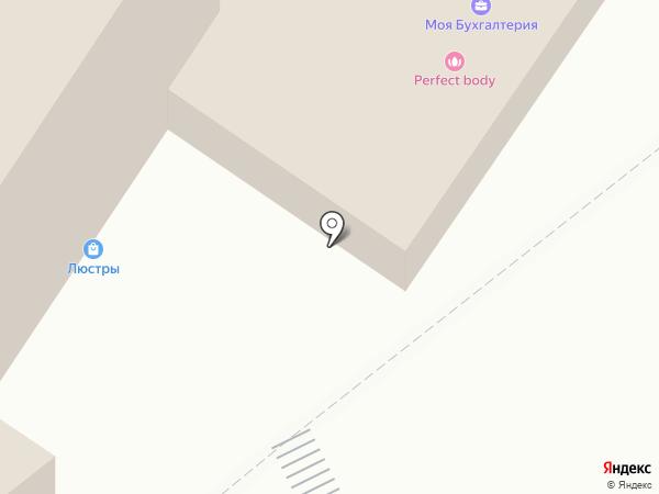 Салон доступной мебели на карте Набережных Челнов