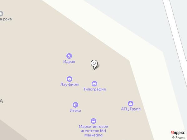 Каммонтаж на карте Набережных Челнов