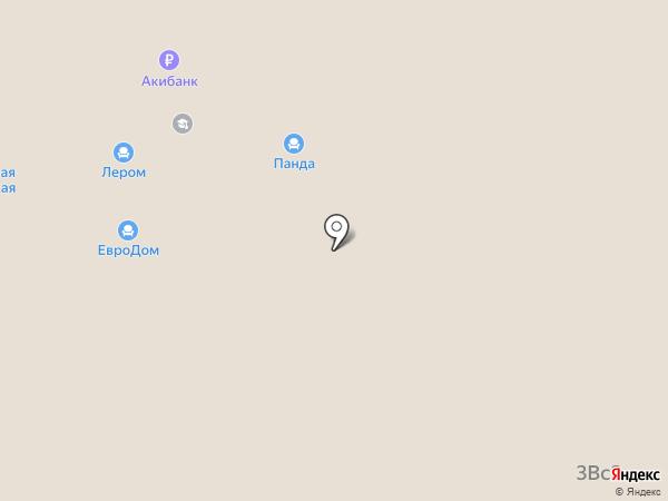 Бландо на карте Альметьевска
