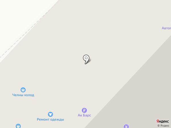 Семейная на карте Набережных Челнов