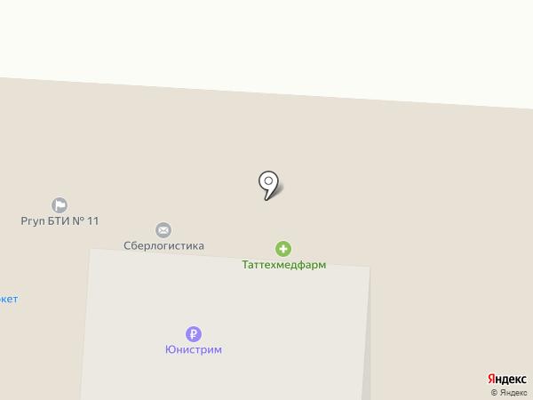 Таттехмедфарм, ГУП на карте Альметьевска