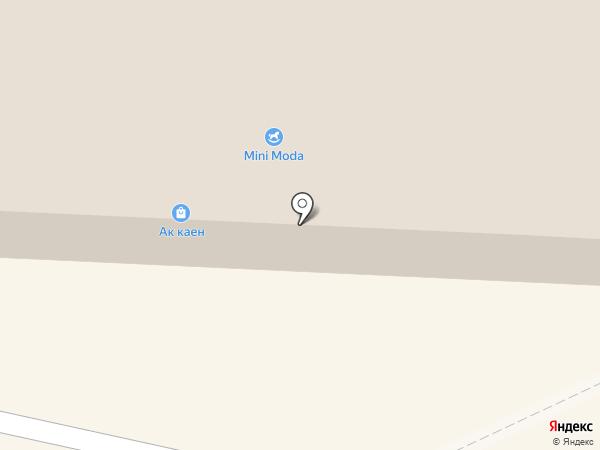Ак каен на карте Альметьевска