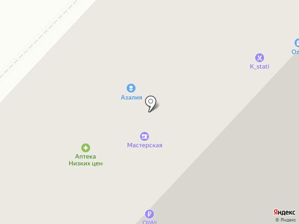 Продуктоша на карте Набережных Челнов