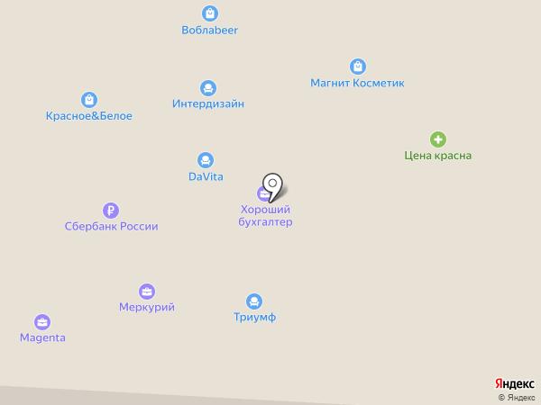 MAGENTA на карте Альметьевска