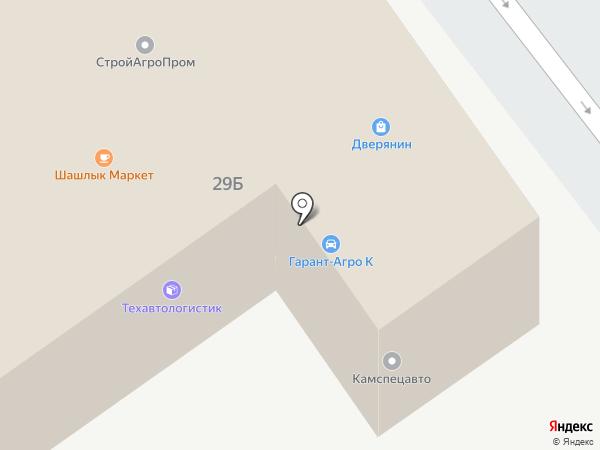 Мидас на карте Набережных Челнов